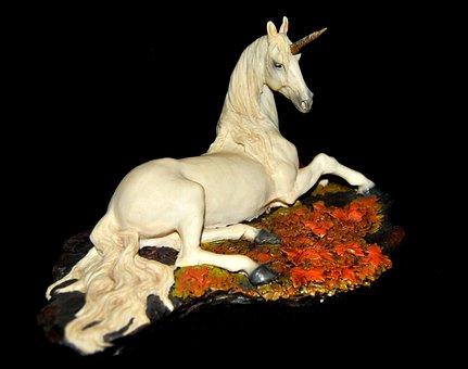 Unicorn, Fantasy, Mythical Creatures, Figure
