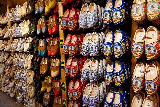 Clog, Shoes, Colorful, Craft, Dutch, Footwear, Handmade