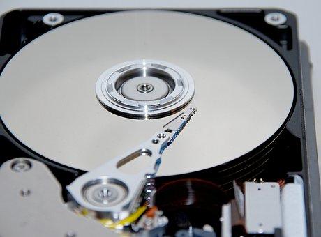 Hard Drive, Edp, Computer, Inner Workings, Hardware