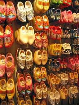 Amsterdam, Shoes, Holland, Dutch, Traditional, Culture