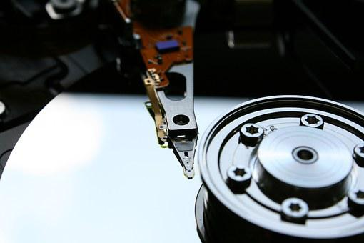 Hdd, Hard Drive, Disk, Data Store, Computer, Macro