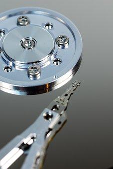 Hard Drive, Hdd, Hardware, Computer, Disk, Macro
