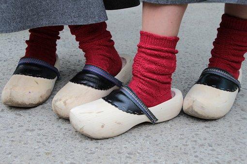 Lump, Wooden Shoes, Custom, Customs, Münsterland