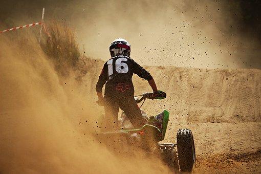 Enduro, Motorsport, Atv, Quad, Motocross, Cross, Sand