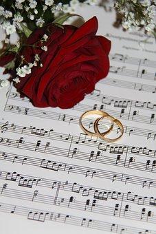 Wedding, Ros, Flower, Call, Rose, Remarks, Music