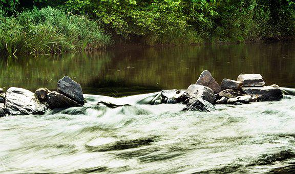 Water, Bach, River, Stones, Rocks, Nature, Calm Water