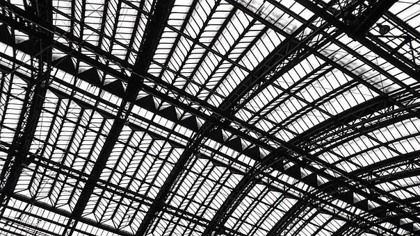 Architecture, Roof, Steel Construction, Structures