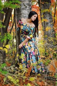 Girl, Sorrow, Nature, Forest, Experiences, Beauty