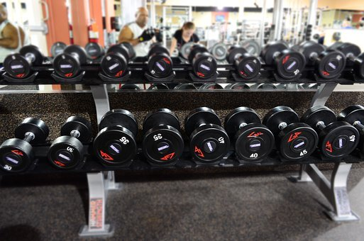 Gym, Wieghts, Fitness, Sport, Equipment, Gray Fitness