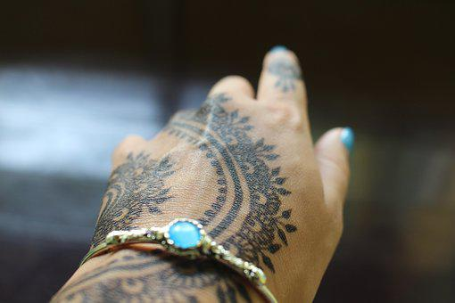Henna, Henna Tottoo, Mehndi, India, Indian, Thailand