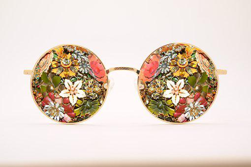 Sunglasses, Antique, Broach, Vintage, Glasses, Fashion