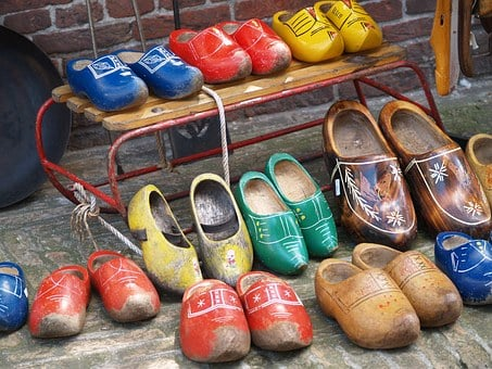 Wooden Shoes, Holland, Shoes, Wood, Cozy, Colorful