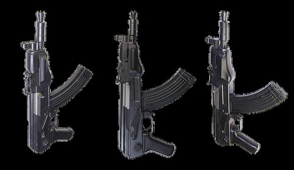 Automatic, Kalashnikov, Ak, Compact, Firearms, Butt
