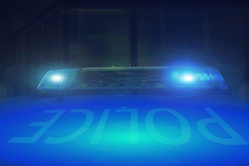 Blue Light, Siren, Police, Alarm, Emergency, Light