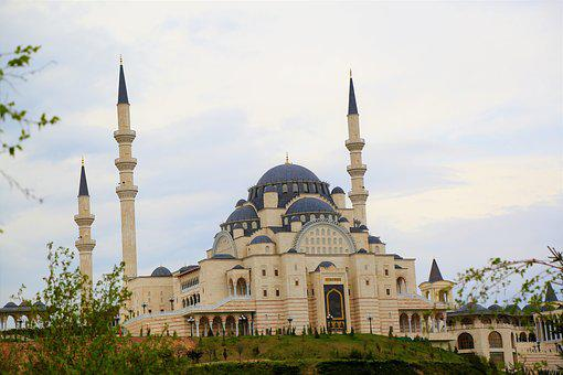 Cami, Religion, Islam, Minaret, Architecture, Dome, Sky