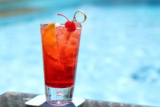 Cocktail, Summer, Beach, Alcohol, Cold, Juice, Bar