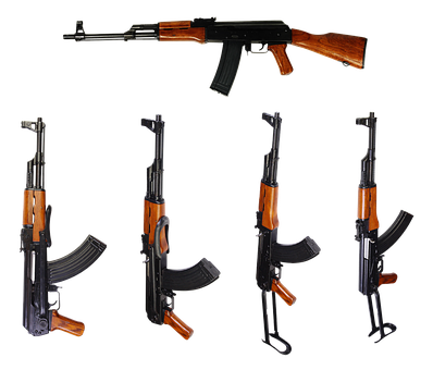 Automatic, Kalashnikov, Ak, Firearms, Butt, Rifle