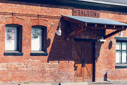 Saloon, Bar, Entrance, Day, Closed, Victoria