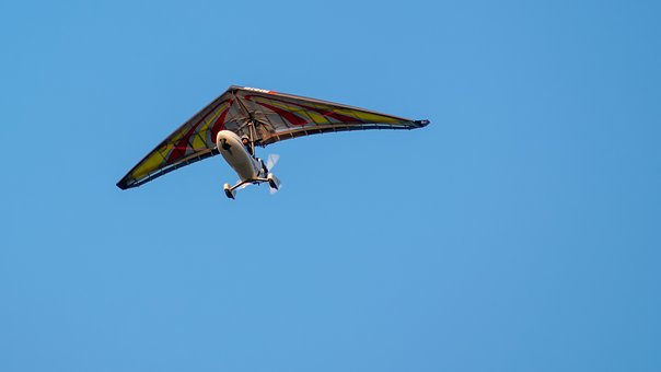 Hang Glider, Flying, Flight, Sky, Wings, Freedom, Fly