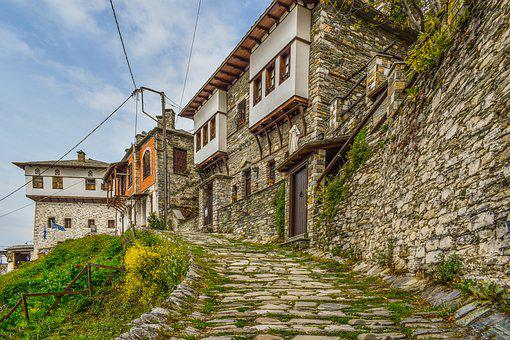 Village, Architecture, Traditional, Houses, Building