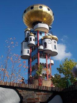 Hundred Water Tower, Abensberg, Asparagus, Beer Garden