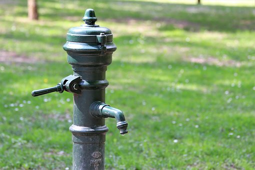 Water Pump, Hydrant, Drinkable Water, Park, Nature