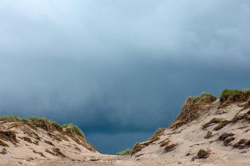 Dunes, Air, Nature, Landscape, Dune