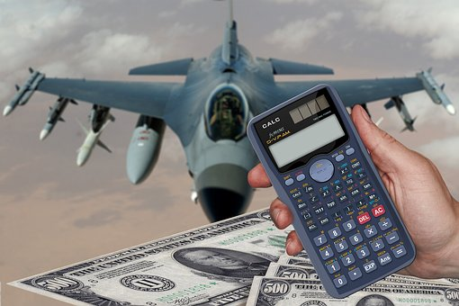 Cost, Calculator, Euro, Dollar, Money