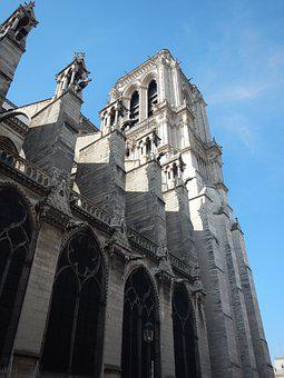 Church, France, Cathedral, Architecture, Notredame