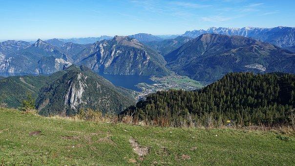 Mountains, Alpine, Landscape, Nature, Summit, Panorama