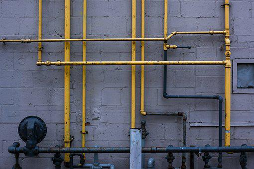 Pipes, Piping, Lines, Industry, Tunnel, Tube