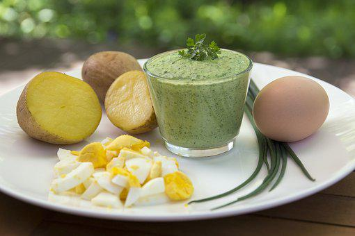 Frankfurt's Green Sauce, Egg, Potato, Herbs, Parsley