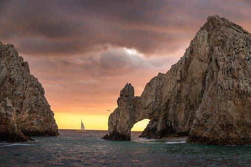 Arch, Sea, Ocean, Rock, Nature, Landscape, Coast, Water