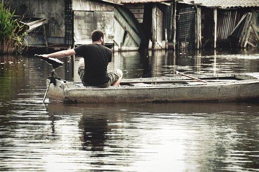 Boat, Fishing, Bayou, Florida, Sea, France, Marseille