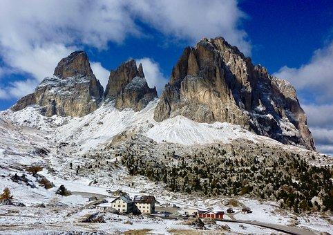 Mountain Landscape, Winter, Landscape, Alpine, Snow