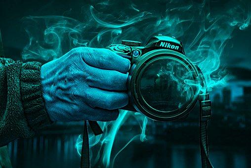 Camera, Nikon, Lens, Team, Technology, Digital, Retro