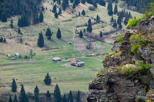 Village, Transylvania, Romania, Village Life, Farm