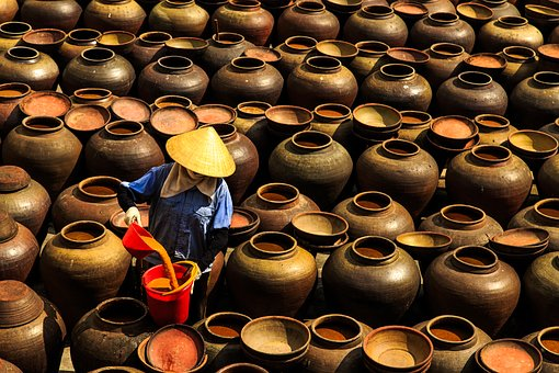 Women, Work, Students, People, Vietnam Women