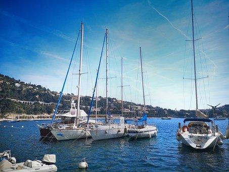 Boats, Bay, Port, Water, Vacations, Ship, Yacht, Beach