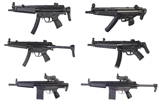 The Gun, Heckler Koch, Automatic, Portable, Weapons