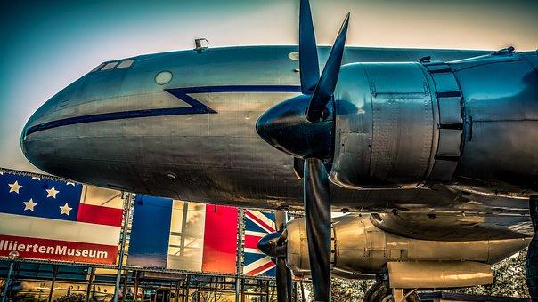 Candy Bomber, Aircraft, Propeller Plane, Berlin