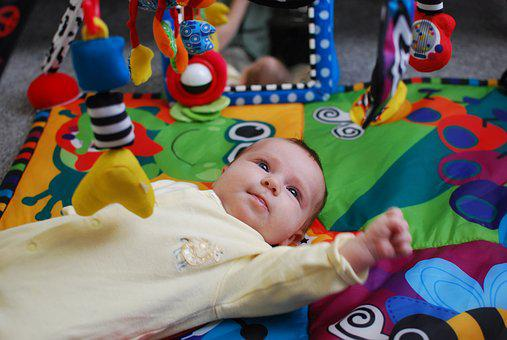Baby, Newborn, Play, Curious, Family, Child, Cute