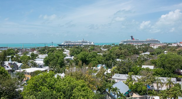 Key West, Florida, Architecture, Cruise Ships, Tourism