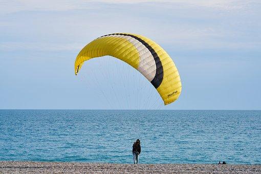 Parachute, Sky, Jump, Flying, Freedom, Education