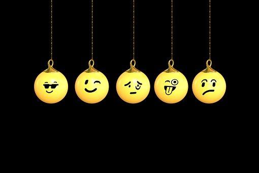 Christmas, Christmas Ornament, Tree Decorations, Emoji