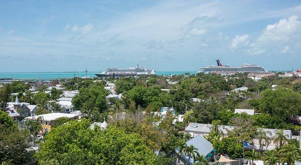 Key West, Florida, Architecture, Cruise Ships, Tourism