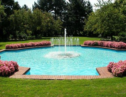 Mott Park, Flint, Fountain