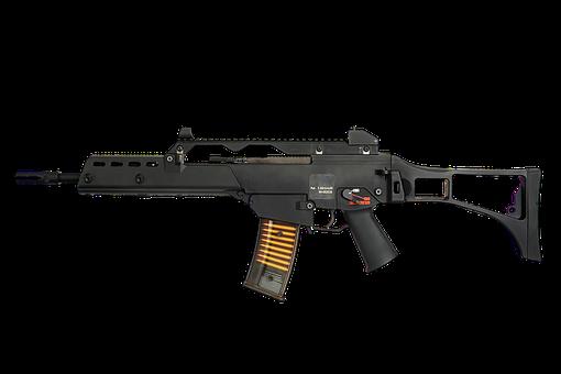 G36k, Heckler Koch, Weapon, Rifle, Bundeswehr, War