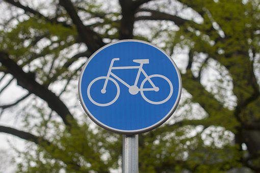 Cycle Path, Cycling, Bicycle Path, Cyclists, Note