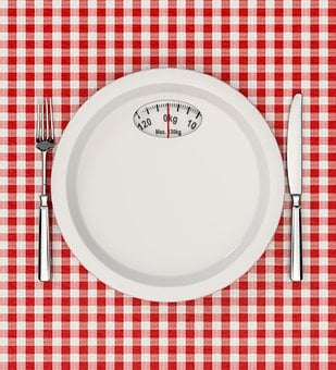 Diet, Plate, Food, Fork, Knife, Eating, Empty, Scales